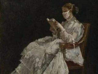 Museu reimagina obras famosas caso fossem pintadas durante o coronavírus