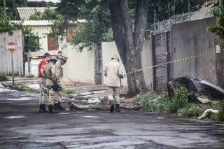 Família é atacada por enxame de abelhas no Guanandi e três são socorridos