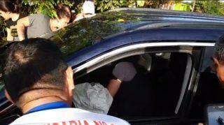 Depois de fuzilado na fronteira de MS, policial ainda tentou fugir e bateu carro contra árvore