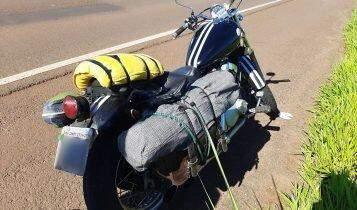 Sobre duas rodas, natureza é refúgio para quem procura acampar e viver a liberdade da estrada