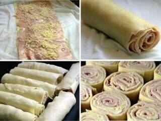 Rondelli com massa de pastel é receita prática e rápida para seu almoço