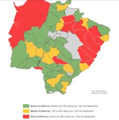 Com mais de 1,3 mil casos confirmados em MS, 13 municípios registram alta incidência de dengue